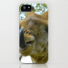 Africa's French Kiss iPhone Case