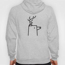 Minimalist Deer Hoody