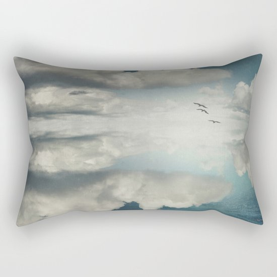 Spaces II - Sea of Clouds Rectangular Pillow