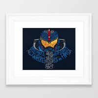 pacific rim Framed Art Prints featuring Pacific Rim by Charleighkat