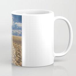 on the dune Coffee Mug
