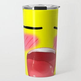 ahegao leolide Travel Mug