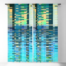 city on water Blackout Curtain