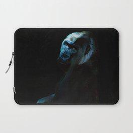 Humanity - Mountain Gorilla in Moonlight Laptop Sleeve