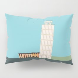 Leaning Tower of Pisa, Italy Pillow Sham