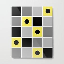 Squares Metal Print