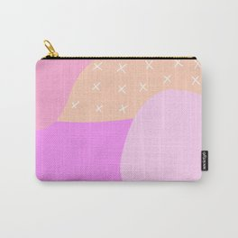 Scandi Abstract Pinks Carry-All Pouch