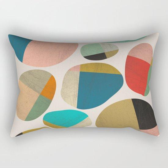 Playful Stones Rectangular Pillow