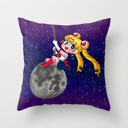 Sailor Moon Wrecking Ball Throw Pillow