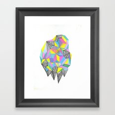 object/icon Framed Art Print