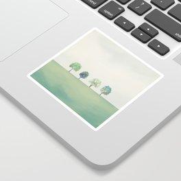 Green Sunny Field II Sticker