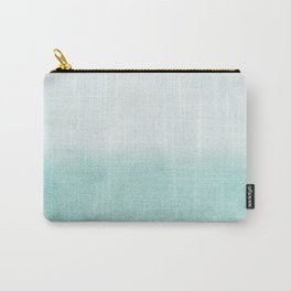 FADING AQUA Carry-All Pouch