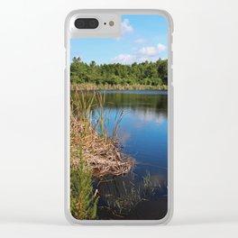 Gator Lake I Clear iPhone Case