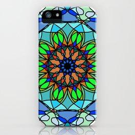 Mandala freedom iPhone Case