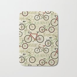 Bicycles, Journey Bath Mat