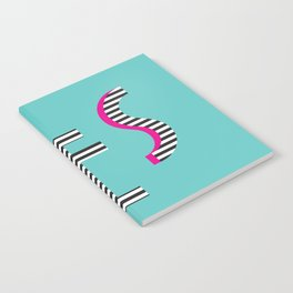YES Poster | Mint Stripe Pattern Notebook