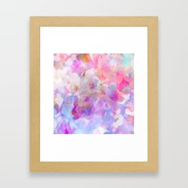 Les fleurs du bien Framed Art Print
