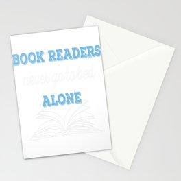 Book Reader Stationery Cards