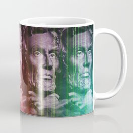 Abraham Lincoln colored Coffee Mug