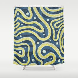 Electric Eels Shower Curtain