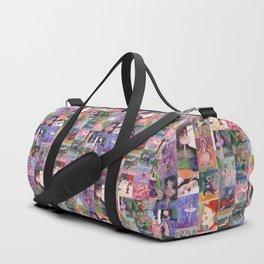 Nutcracker Pattern Duffle Bag