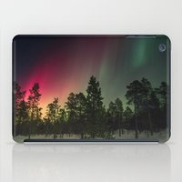 northern lights iPad Cases featuring Northern Lights  by Limitless Design