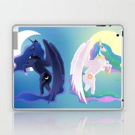 Sun and Moon Sisters Laptop & iPad Skin