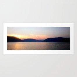 Hudson River Art Print