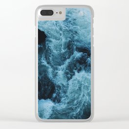 Ice Water Clear iPhone Case