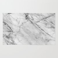 logo Area & Throw Rugs featuring Marble by Patterns and Textures