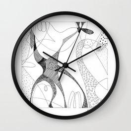 animorph 03 - giraffe Wall Clock