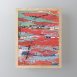 A peek into this world Framed Mini Art Print
