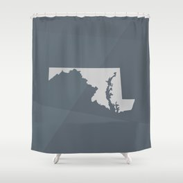 Maryland State Shower Curtain