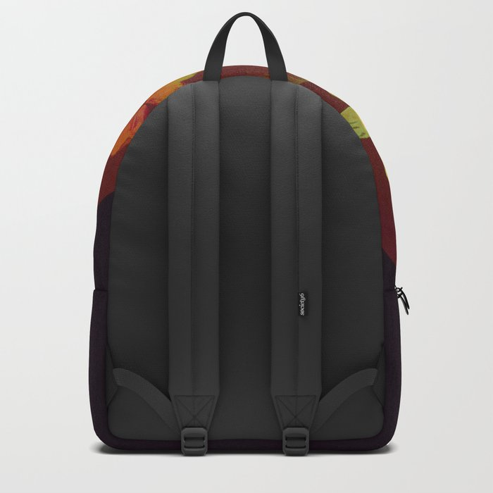 floral in Asian feel Backpack