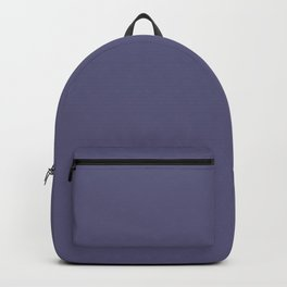 Blue Gray Chalk Board Backpack