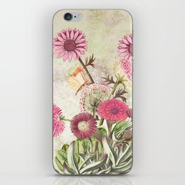 Life is a marvellous garden iPhone Skin