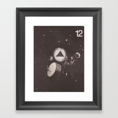 Keep Playing (no. 12) Framed Art Print