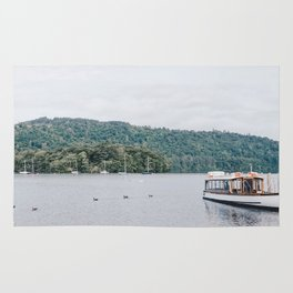 view of the lake in Windermere Rug