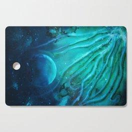 Space squid Cutting Board