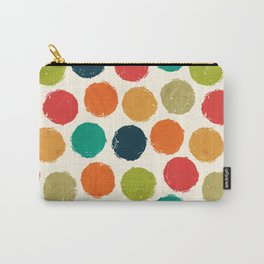 RETRO DOTS Carry-All Pouch