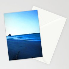 Driftwood on a Beach in the Dying Light Stationery Cards