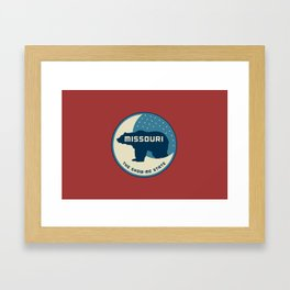 Missouri - Redesigning The States Series Framed Art Print