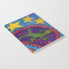 Lizard Paisley Batik Notebook