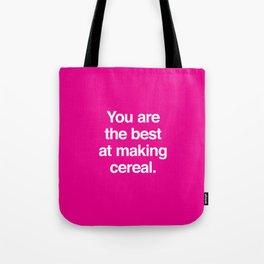 Making Cereal Tote Bag