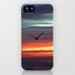 Black Gull by nite iPhone Case