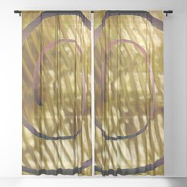 Spiral and Brane S35 Sheer Curtain