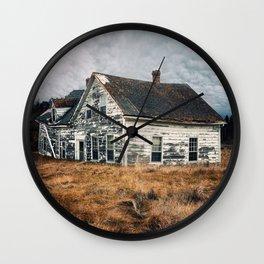 Sinking Away Wall Clock