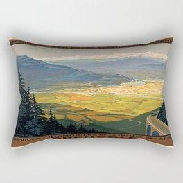 Vintage poster - Grenoble Rectangular Pillow