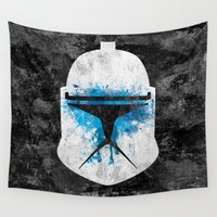 trooper Wall Tapestries featuring  Clone Trooper by Some_Designs