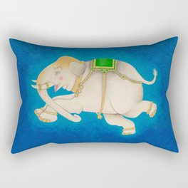 Happy Dreamtime Elephant Rectangular Pillow